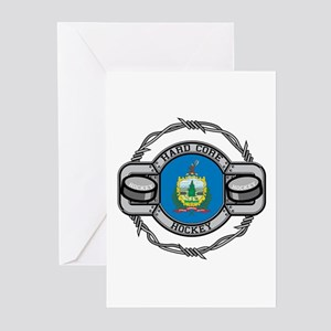 Vermont Hockey Greeting Cards (Pk of 10)