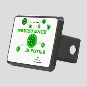Resistance is Futile Rectangular Hitch Cover