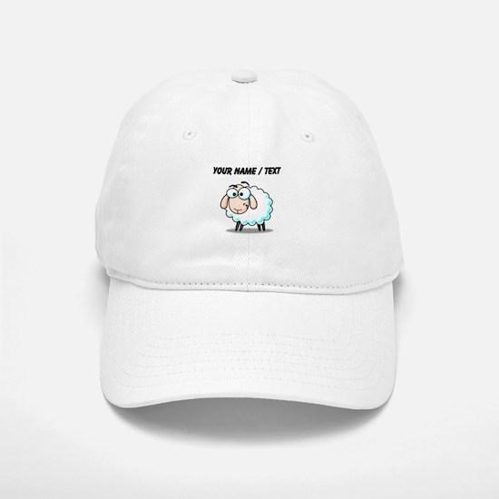 Custom Cartoon Sheep Baseball Baseball Cap