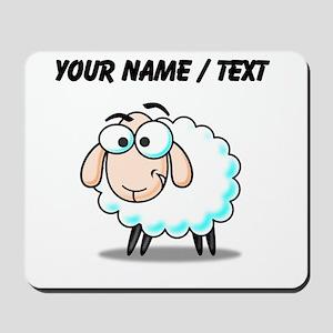 Custom Cartoon Sheep Mousepad