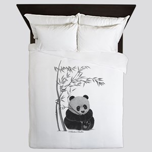 Little Panda Queen Duvet