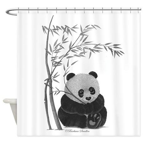 Little Panda Shower Curtain