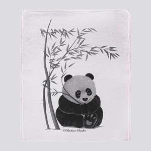 Little Panda Throw Blanket