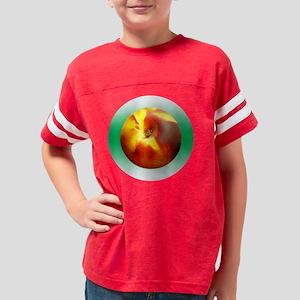 Peach Youth Football Shirt