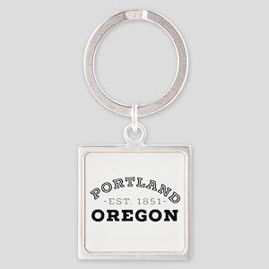 Portland Oregon Keychains