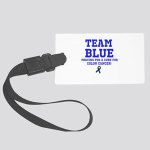 Team Blue Luggage Tag