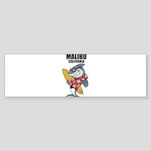 Malibu, California Bumper Sticker