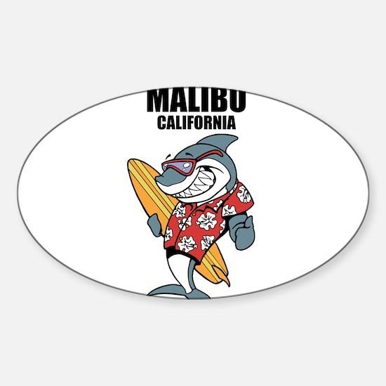 Malibu, California Decal