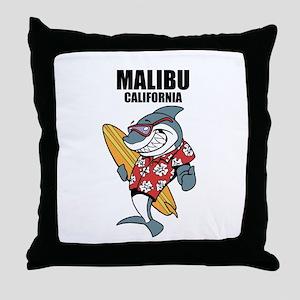 Malibu, California Throw Pillow