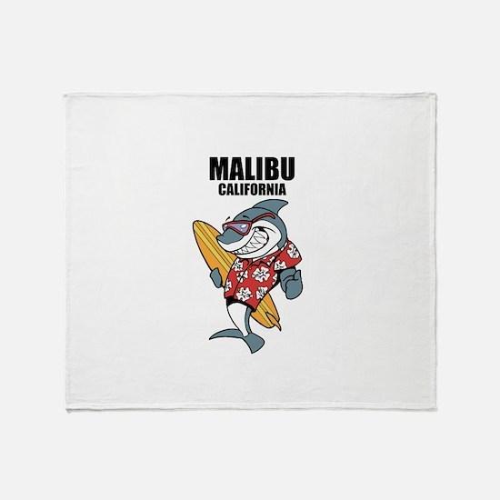 Malibu, California Throw Blanket