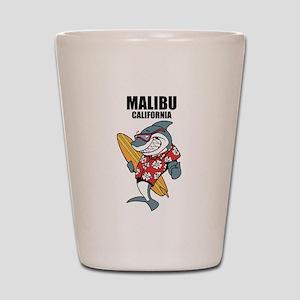 Malibu, California Shot Glass