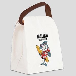 Malibu, California Canvas Lunch Bag