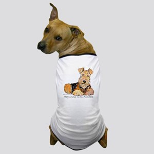 Airedale Happiness Dog T-Shirt