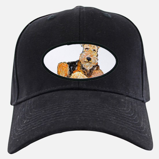 Airedale Happiness Baseball Hat