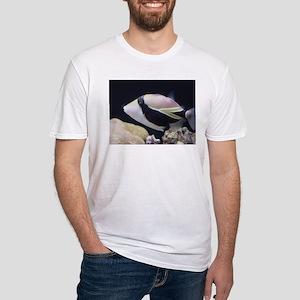 Humuhumunukunukuapaa Fitted T-Shirt