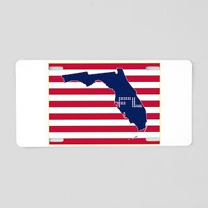 FL-S Aluminum License Plate