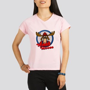 Marty Moose Performance Dry T-Shirt