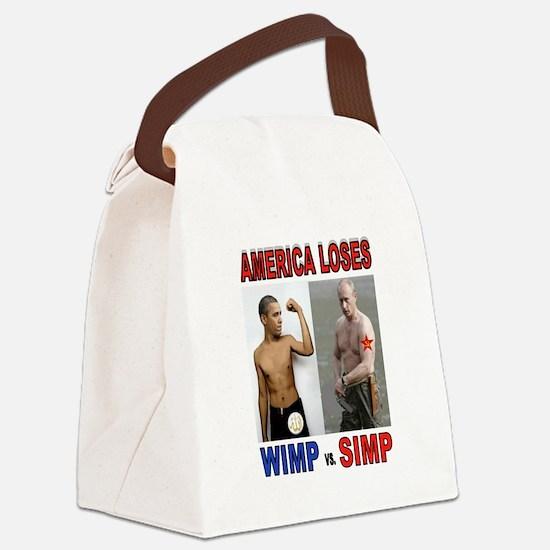 PUTIN WINS Canvas Lunch Bag