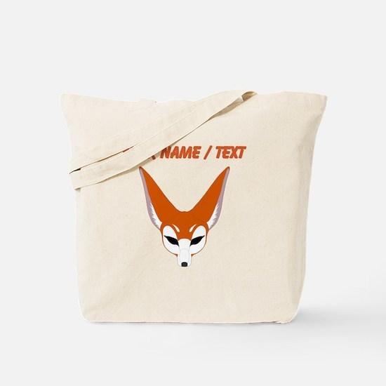 Custom Red Fox Tote Bag