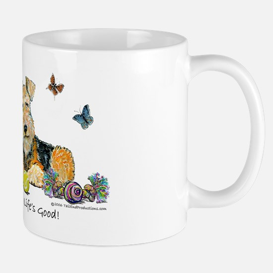 Life is Good Terrier Mug