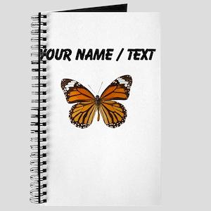 Custom Monarch Butterfly Journal