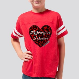 AttractiveNuisanceHeartwLogo Youth Football Shirt