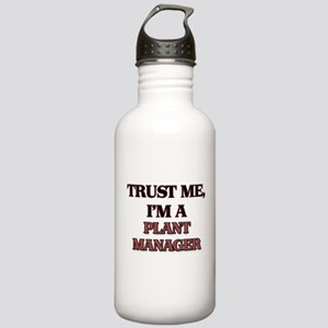 Trust Me, I'm a Plant Manager Water Bottle