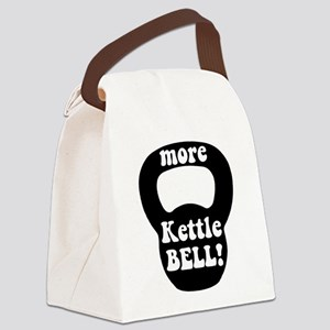 More Kettlebell Canvas Lunch Bag