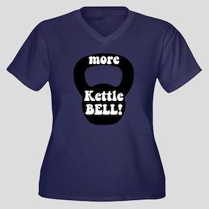 More Kettlebell Plus Size T-Shirt