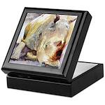 Rhino Keepsake Box
