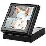 White Shepherd Keepsake Box