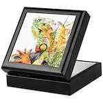 Iguana #3 Keepsake Box