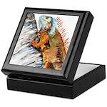 Iguana 2 Keepsake Box