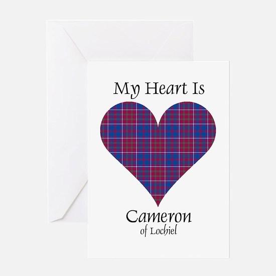 Heart-Cameron of Lochiel Greeting Card