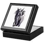 Black Horse Keepsake Box