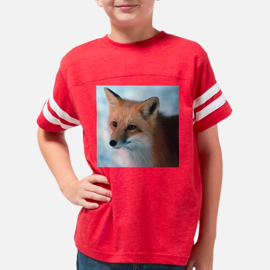 Cute Fox Youth Football Shirt