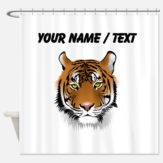 Custom Bengal Tiger Shower Curtain
