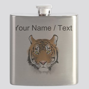 Custom Bengal Tiger Flask