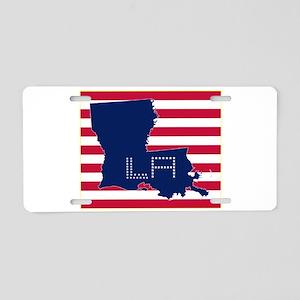 LA-S Aluminum License Plate