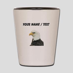 Custom Bald Eagle Shot Glass