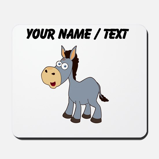 Custom Cartoon Donkey Mousepad