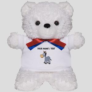 Custom Cartoon Donkey Teddy Bear