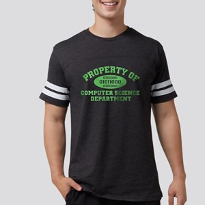 Property of Computer Science Mens Football Shirt