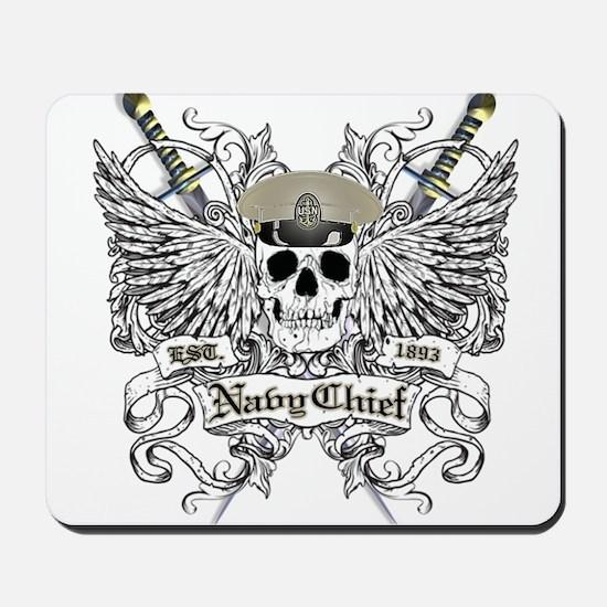 Chief wingskull Mousepad