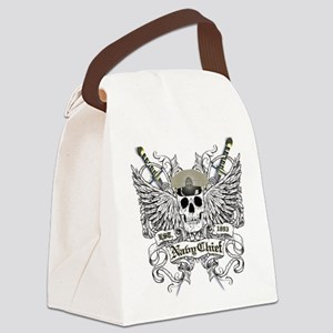 Chief wingskull Canvas Lunch Bag