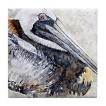 Pelican Repose Tile Coaster