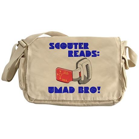 Scouter Reads: UMAD BRO! Messenger Bag