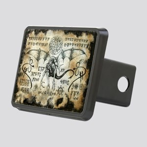 Dragon Runes Rectangular Hitch Cover