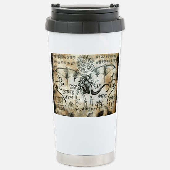 Dragon Runes Stainless Steel Travel Mug