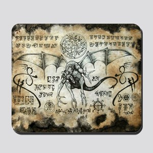 Dragon Runes Mousepad